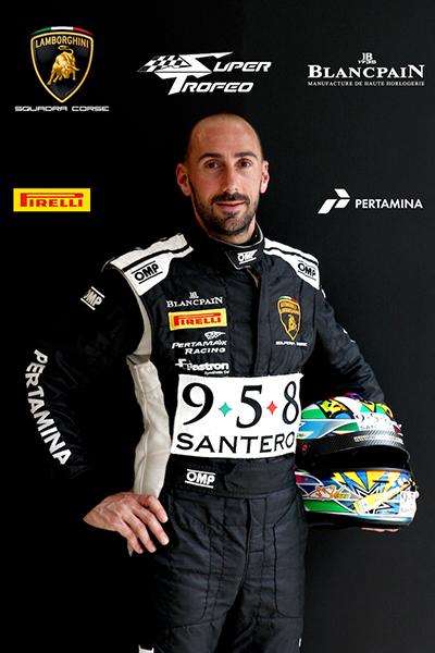 Max Wiser - Lamborghini Blancpain Super Trofeo 2016